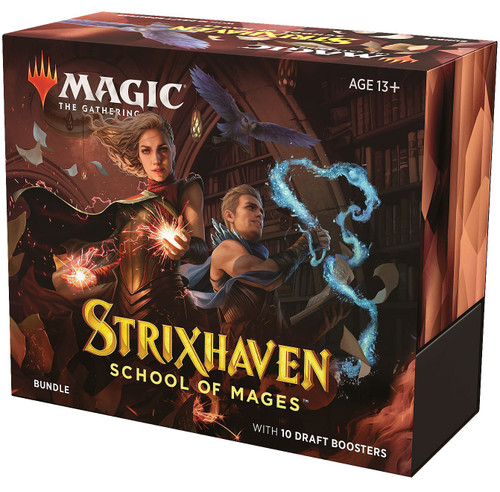 MtG Trading Card Game Strixhaven: School of Mages Bundle [Includes 10 Booster Packs]