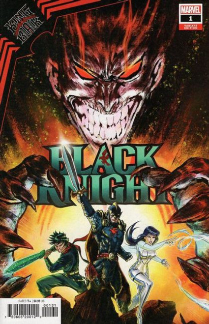 Marvel King in Black: Black Knight #1 Comic Book [Su Variant]