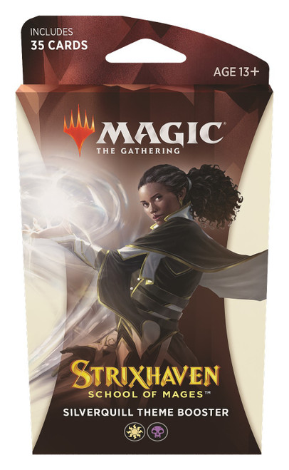 MtG Trading Card Game Strixhaven: School of Mages Silverquill Theme Booster [35 Cards]