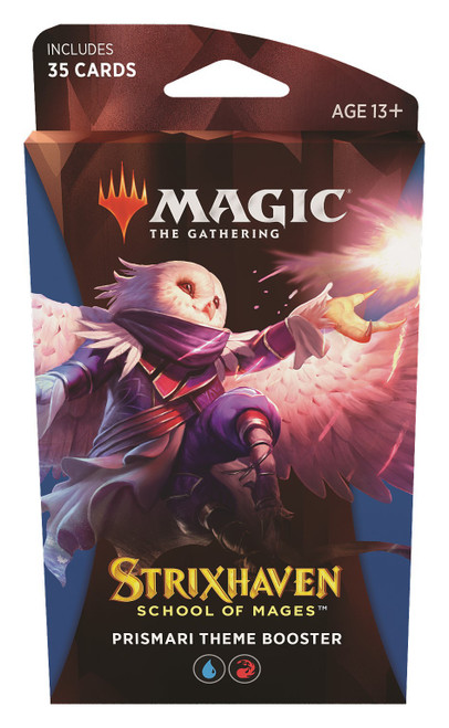 MtG Trading Card Game Strixhaven: School of Mages Prismari Theme Booster [35 Cards]