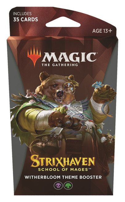 MtG Trading Card Game Strixhaven: School of Mages Witherbloom Theme Booster [35 Cards]