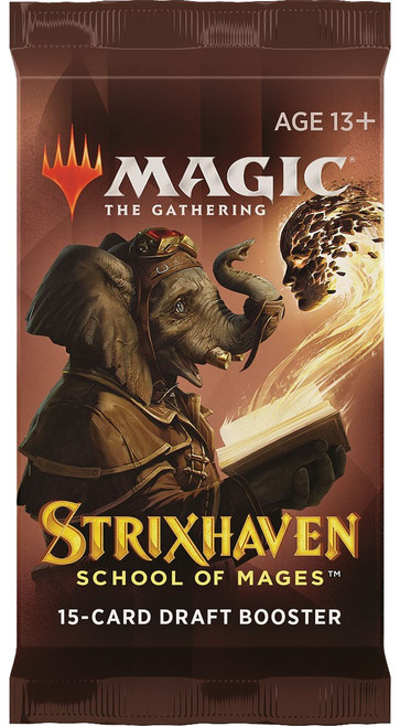 MtG Trading Card Game Strixhaven: School of Mages DRAFT Booster Pack [15 Cards]
