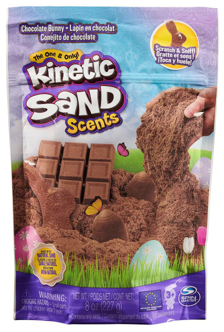 Kinetic Sand Scents Chocolate Bunny Exclusive 8 Ounce Pack