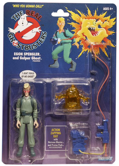 The Real Ghostbusters Egon Spengler Exclusive Action Figure