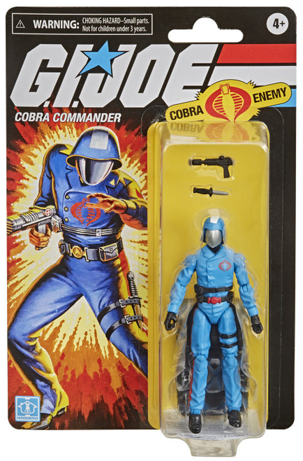GI Joe Retro Collection Cobra Commander Exclusive Action Figure [Cobra Enemy]