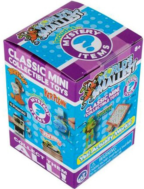 World's Smallest Classic Mini Toys Series 5 Mystery Pack (Pre-Order ships July)