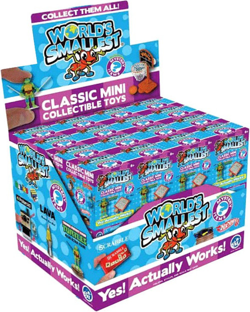 World's Smallest Classic Mini Toys Series 5 Mystery Box [24 Packs] (Pre-Order ships October)