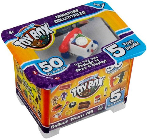 World's Smallest Micro Toybox Series 1 Mystery Pack [5 RANDOM Micro Toys!] (Pre-Order ships July)