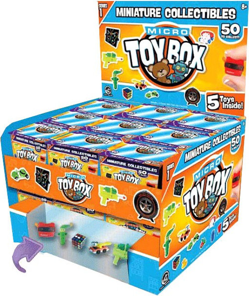 World's Smallest Micro Toybox Series 1 Mystery Box [27 Packs] (Pre-Order ships September)