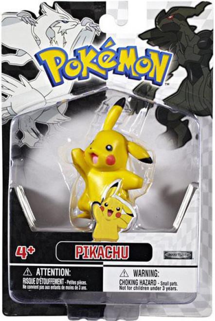 Pokemon Black & White Series 1 Basic Pikachu Figure [Damaged Package]