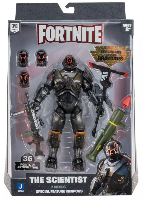 Fortnite Legendary Series Brawler The Scientist Action Figure