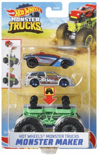 Hot Wheels Monster Trucks Monster Maker Sharkruiser Diecast Car