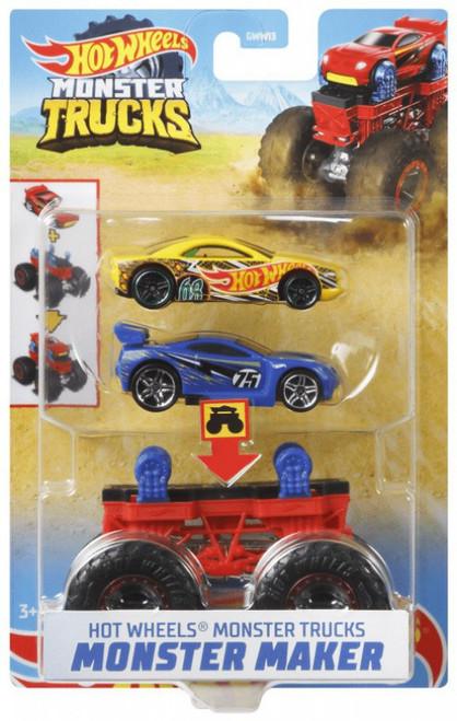 Hot Wheels Monster Trucks Monster Maker Scorpedo Diecast Car