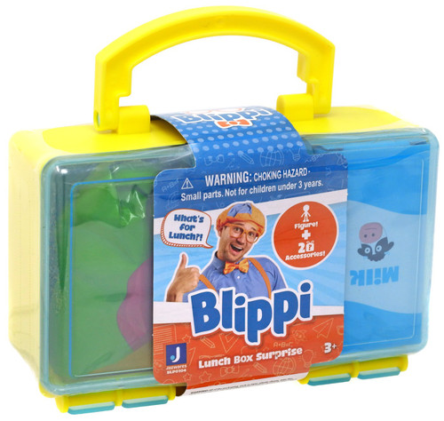 Blippi Lunch Box Surprise Mystery Pack [Yellow]