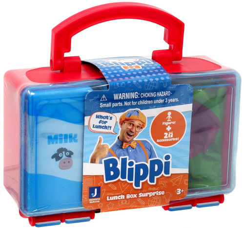 Blippi Lunch Box Surprise Mystery Pack [Red]