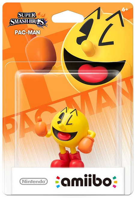 Nintendo Super Smash Bros Amiibo Pac-Man Mini Figure [Damaged Package]
