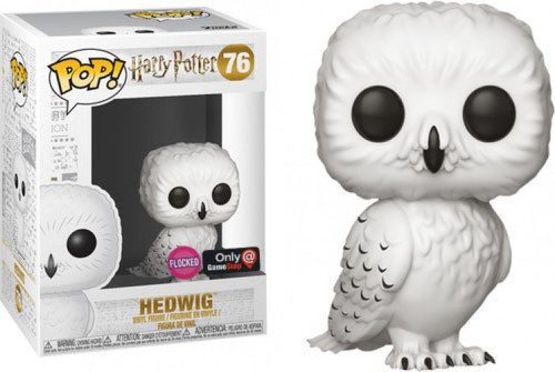 Funko Harry Potter POP! Movies Hedwig Exclusive Vinyl Figure #76 [Flocked, Damaged Package]