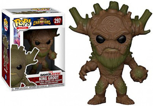 Funko Contest of Champions POP! Marvel King Groot Vinyl Bobble Head #297 [Damaged Package]