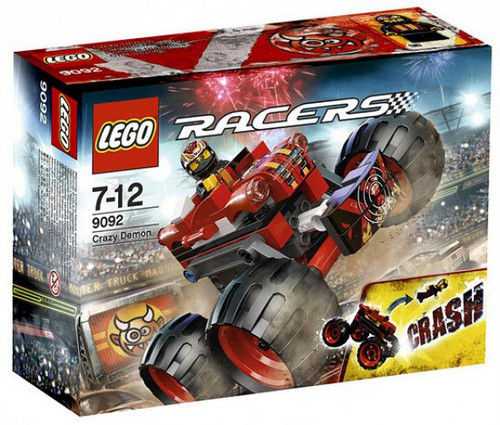 LEGO Racers Crazy Demon Set #9092 [Damaged Package]