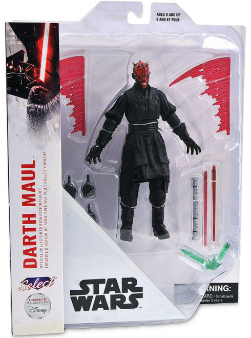 Star Wars Collector's Edition Darth Maul Exclusive Action Figure [Damaged Package]