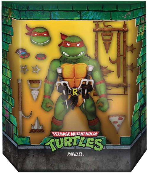 Teenage Mutant Ninja Turtles Ultimates Wave 1 Raphael Action Figure [Version 2]