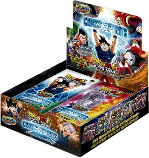 Dragon Ball Super Trading Card Game Unison Warrior Series 5 Cross Spirits Booster Box B14 [24 Packs] (Pre-Order ships August)