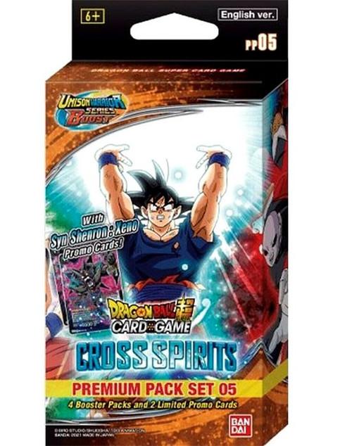 Dragon Ball Super Trading Card Game Unison Warrior Series 5 Premium Pack PP05 (Pre-Order ships August)