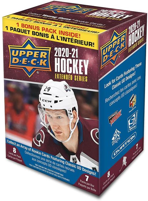 NHL 2020-21 Extended Series Hockey Trading Card BLASTER Box (Pre-Order ships June)