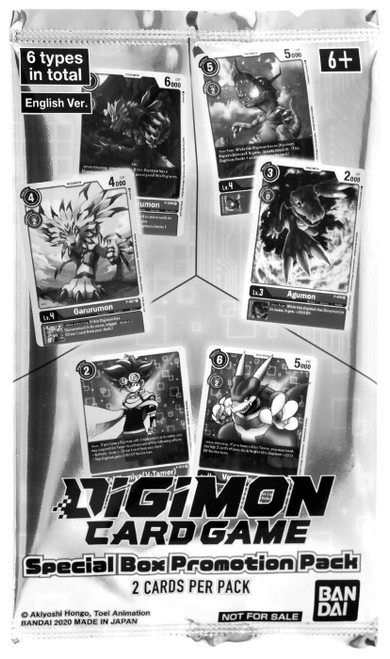 Digimon Trading Card Game Release Special Booster Ver 1.0 Promo Pack [2 Cards]
