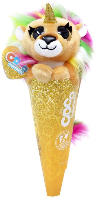 Coco Cones Surprise Fantasy Series Mego Plush [Lion]