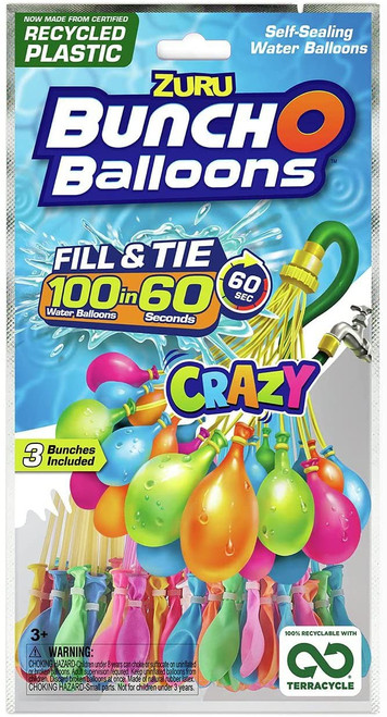 Bunch O Balloons 100-Pack [Crazy]