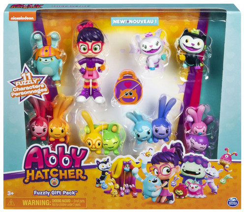 Abby Hatcher Fuzzly Gift Pack Exclusive Figure 8-Pack [Includes 12 Characters!, Damaged Package]