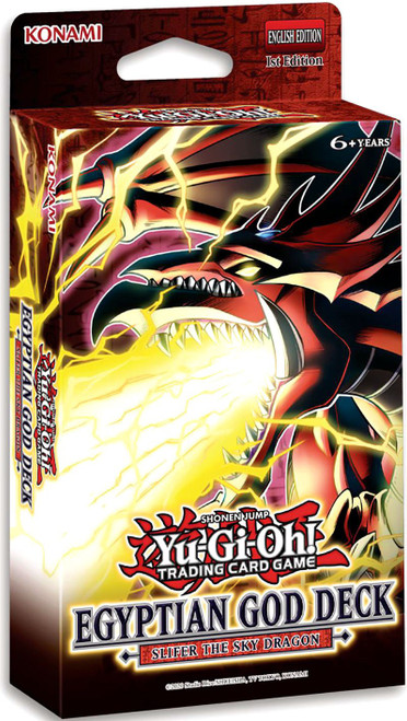 YuGiOh Trading Card Game Slifer the Sky Dragon Egyptian God Deck (Pre-Order ships June)