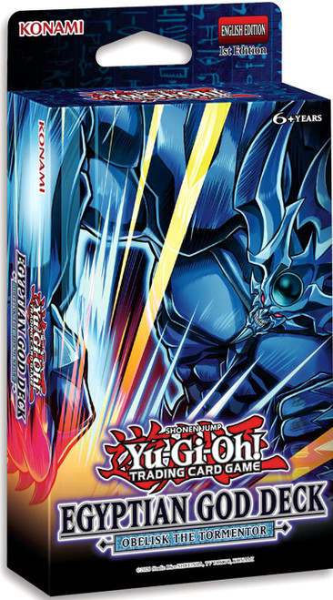 YuGiOh Trading Card Game Obelisk the Tormentor Egyptian God Deck (Pre-Order ships June)