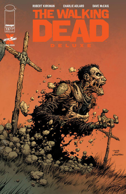 Image Comics The Walking Dead Deluxe #15 Comic Book [Cover A Finch & McCaig] (Pre-Order ships May)