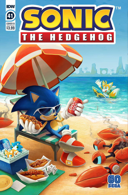 IDW Sonic The Hedgehog #41 Comic Book [Cover B Gray & Graham] (Pre-Order ships May)