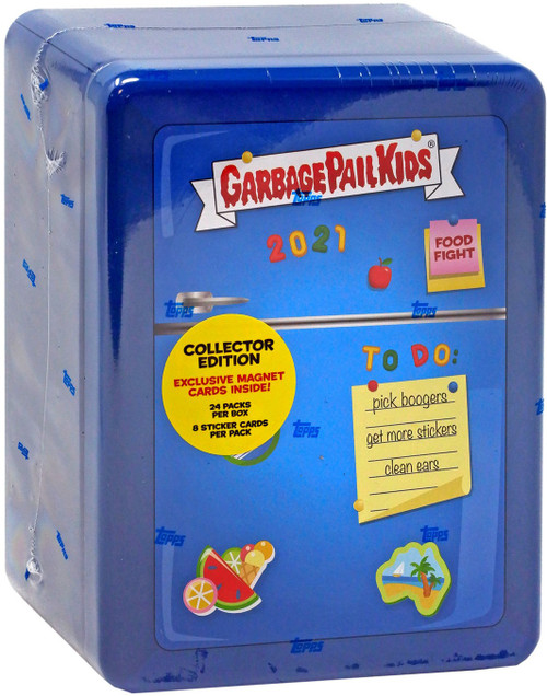 Garbage Pail Kids Topps Food Fight Trading Card COLLECTOR HOBBY Tin [24 Packs]