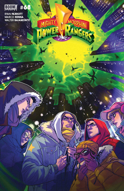 Boom Studios Mighty Morphin #7 Comic Book [Cover B Carlini Legacy Variant] (Pre-Order ships May)
