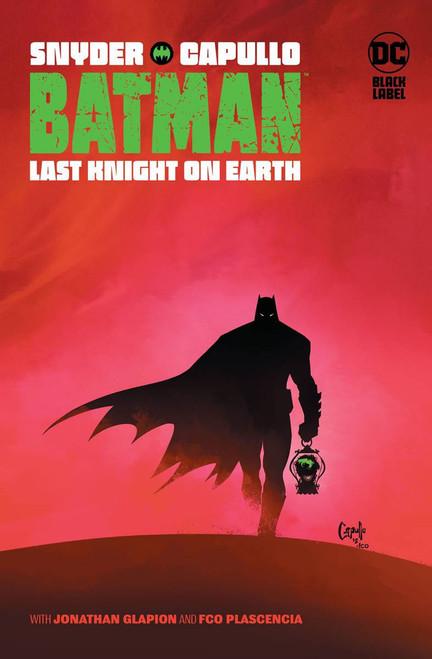 DC Black Label Batman Last Knight on Earth Hardcover