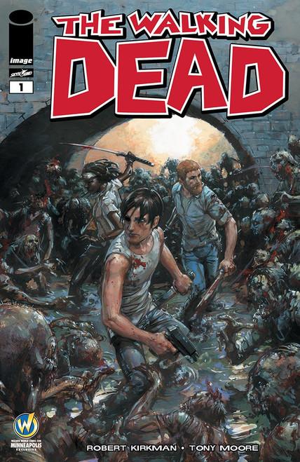 Image Comics The Walking Dead #1 Comic Book [Clayton Crain Wizard World Minneapolis Variant Cover]