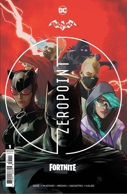 DC Comics Batman / Fortnite Zero Point #1 Main Cover (Mikel Janin) Comic Book [Comes with Online Game Digital Item Code to Unlock Rebirth Harley Quinn Outfit!]