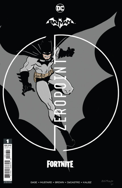 DC Comics Batman / Fortnite Zero Point #1 Premium Variant A Cover (Donald Mustard) Comic Book [Comes with Online Game Digital Item Code to Unlock Rebirth Harley Quinn Outfit!]