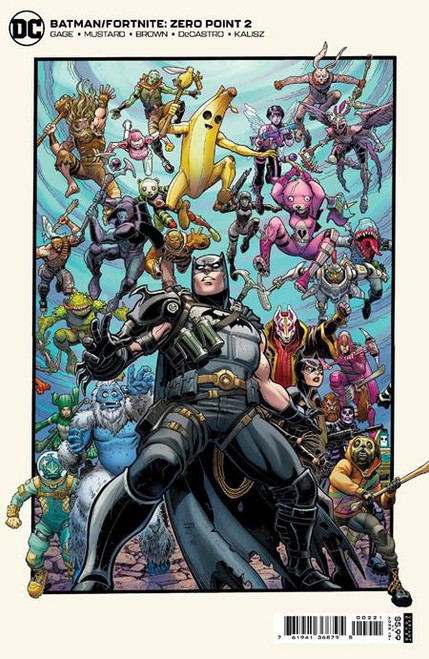 DC Comics Batman / Fortnite Zero Point #2 Card Stock Variant (Art Adams) Comic Book [Comes with DC Themed Digital Item Code for Fortnite Game!] (Pre-Order ships May)