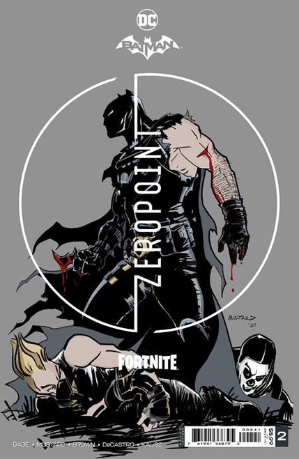 DC Comics Batman / Fortnite Zero Point #2 Premium Variant B Cover (Donald Mustard) Comic Book [Comes with DC Themed Digital Item Code for Fortnite Game!] (Pre-Order ships May)