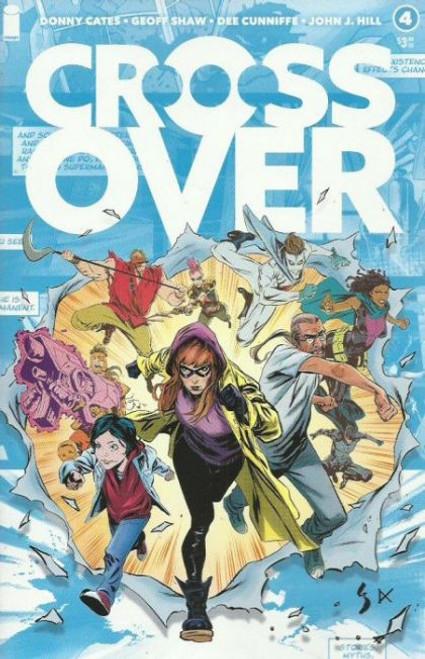 Crossover (Image Comics) #4 Comic Book