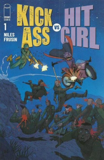 Image Comics Kick-Ass vs Hit-Girl #1 Comic Book [2nd Printing Variant]