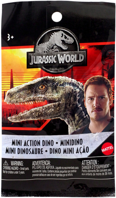 Jurassic World Matchbox Series 4 Mini Dinosaur Figure 2-Inch Mystery Pack
