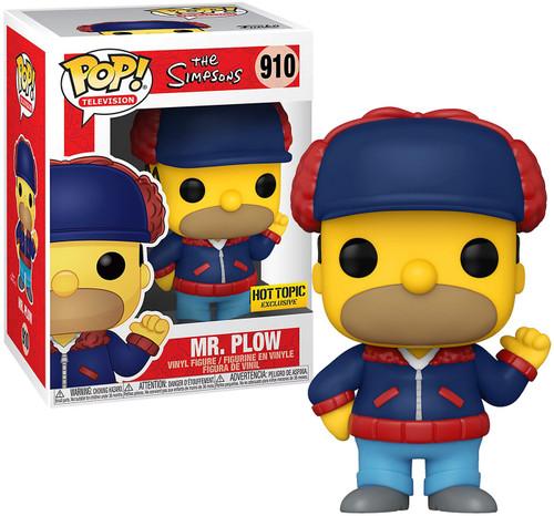 Funko The Simpsons POP! Animation Mr. Plow Exclusive Vinyl Figure #910