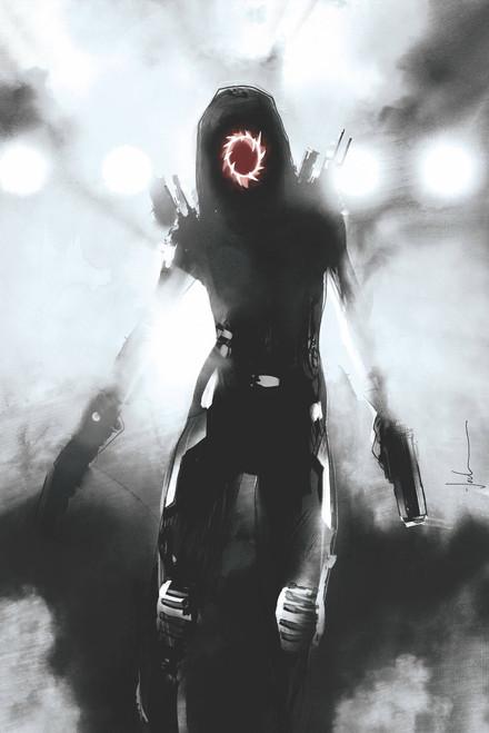 Image Comics Nocterra #1 Comic Book [Cover J Jock Black & White]