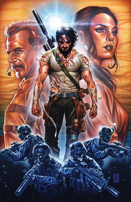 Boom! Studios Brzrkr #1 Comic Book [Cover J Brooks 1:50 Variant]